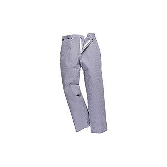 Portwest greenwich chefs trousers s884