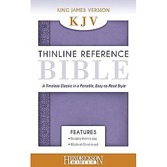 KJV Thinline Reference Bible - Lilac: A Timeless Classic in a Portable, Easy to Read Style