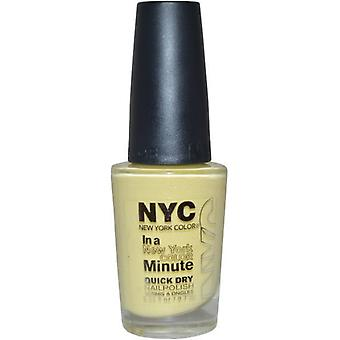 NYC New York Color In a Minute Quick Dry Varnish 9.7ml Gialio
