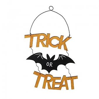 Heaven Sends Wooden Trick Or Treat Plaque | Gifts From Handpicked