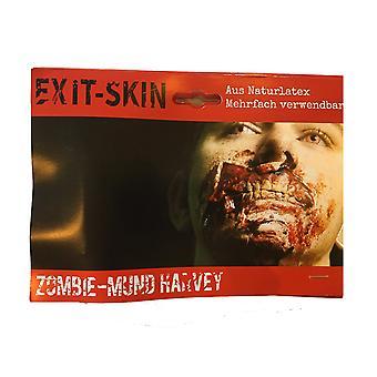 Exit skin - zombie harvey - movie make-up kit