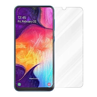 Cadorabo Tank Film for Samsung Galaxy A50 - Tempered Display Protective Glass in 9H Hardness with 3D Touch Compatibility (RETAIL PACKAGING)