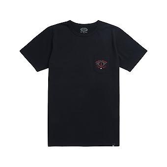 Animal håndverker kort ermet T-skjorte i svart