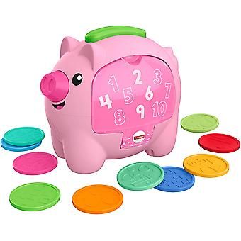 Fisher-Price Ride & Imparare Count & Rumble Piggy Bank