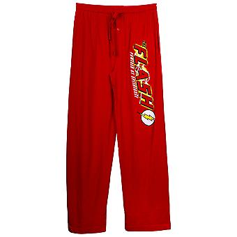 Flash Speed Force Unisex pantalones de paja rojo