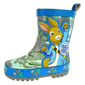 Peter Rabbit Boys Peterwelly Slip On Wellington Boots UK Sizes Enfant 5-10