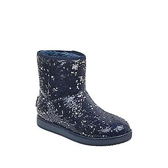 G by GUESS Asella Sequin Booties Denim Blue