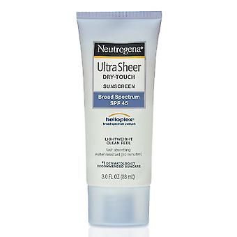 Neutrogena ultra sheer dry-touch sunscreen, spf 45, 3 oz