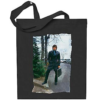 TV Times George Best Leather Duster Totebag