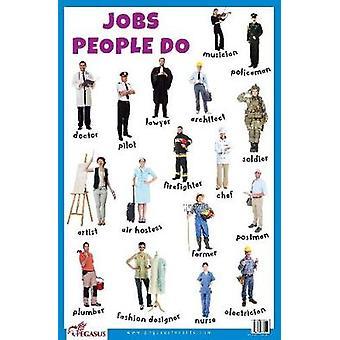 Jobs People Do Educational Chart por Pegasus