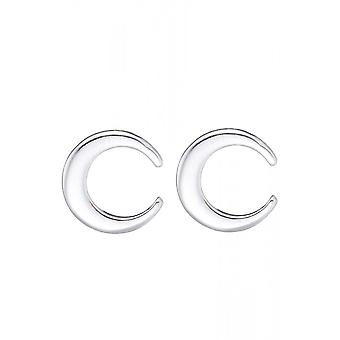 Attitude Clothing Crescent Moon Stud Earrings