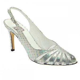 Renata peep toe slingback sandaal