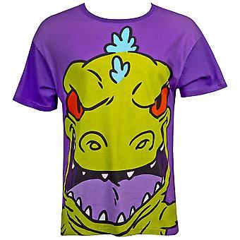Rugrats Men's Purple Reptar T-Shirt