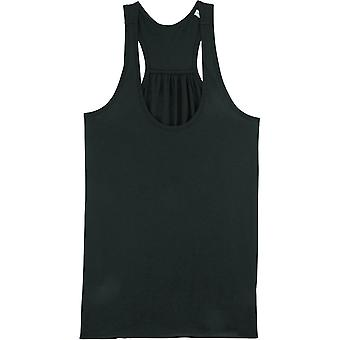 greenT Womens Organic Whistles Racerback Casual Fit Tank Top
