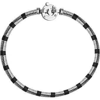 Clio Blue BR2369S - Bracelet steel black man bracelet