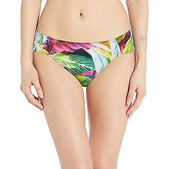 La Blanca Women's Side Shirred Hipster Bikini Swimsuit, MultiColor, Size 4.0