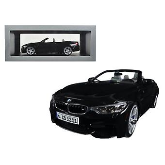 BMW M4 Cabrio Black 1/18 Diecast Model Car par Paragon