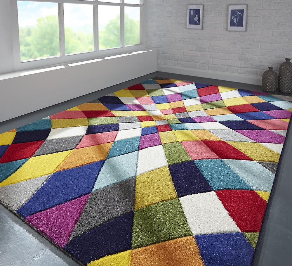 Spectrum Rhumba Rug - Rectangulaire - Multicolore