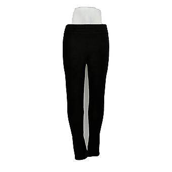 Cuddl klær leggings Fleecewear stretch svart A293087