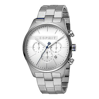 Esprit ES1G053M0045 Ease Chrono Silver Mens Watch Chronograph