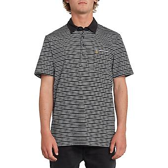 Volcom Smithers Polo Shirt in Black