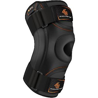 Shock Doctor Knee Stabilizer with Flexible Knee Stays - Black