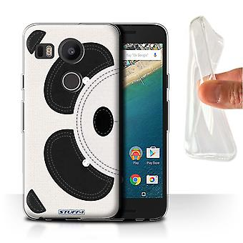 STUFF4 Gel/TPU Case/Cover voor LG Nexus 5 X/Panda/dier Stitch Effect