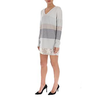 Fabiana Filippi Mad260w139a511vr2 Women's Grey Cashmere Dress
