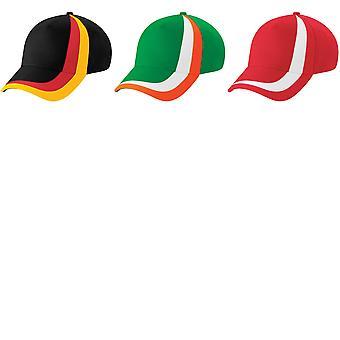 Beechfield svet vlajky národov GB Baseball Cap/Headwear (balenie 2)