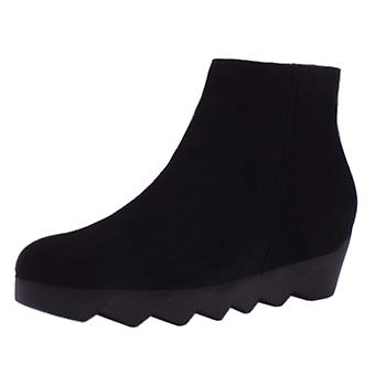 Högl 6-10 3412 Zigzag Stylish Boots In Black Suede