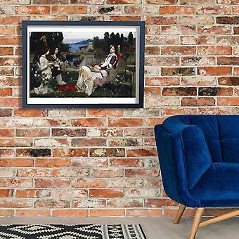 John William Waterhouse - Saint Cecilia Poster Print Giclee