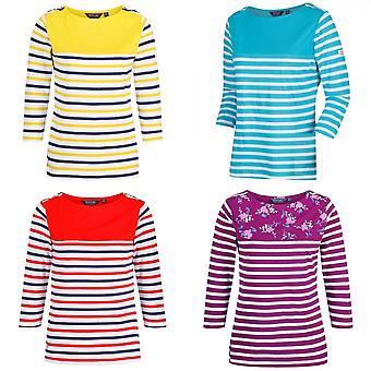 Regatta dames/dames Pronk lange mouw streep T-shirt