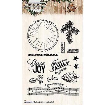 Studio Light A6 Clear Stamp Woodland Winter Number 193 Stampww193