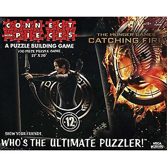 Hunger Games Catching Fire Katniss Connect With Pieces Puzzle Game