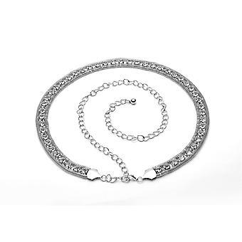 Ceinture de taille de chaîne de diamantdiamant de 48 pouces de strass
