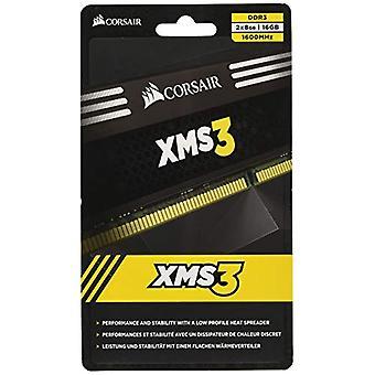Corsair CMX16GX3M2A1600C11 XMS3 High Performance Desktop Memory of 16 GB (2x8 GB), DDR3, 1600 MHz, CL11