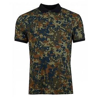 Barbour Hex Camo Polo