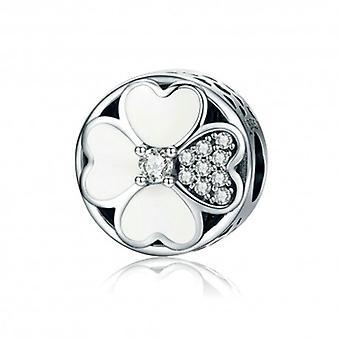 Sterling Silver Charm Klvers av kärlek - 5485