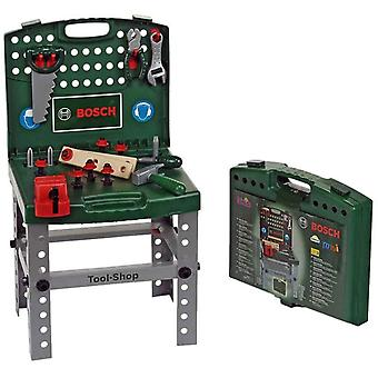 Theo Klein Bosch Transportable Workbench For Ages 3+ and Above