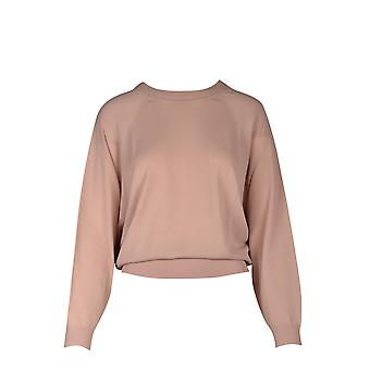 P.a.r.o.s.h. D510953lightpink Women's Pink Cotton Sweater