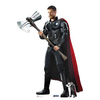 Thor uit Marvel Avengers: Endgame Official Lifesize Cardboard Cutout / Standee