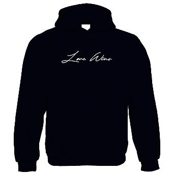 Love Wins Hoodie - Family, Friends, Together, Be Kind