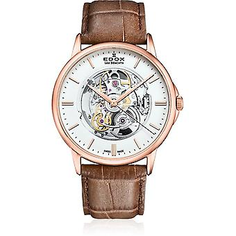 Edox - Wristwatch - Men - Les Bémonts - Automatic Shade of Time - 85300 37R AIR