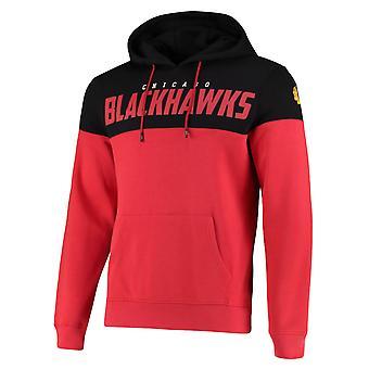 Chicago Blackhawks Cut & Sew NHL Hoodie Red
