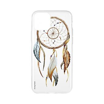Shell voor iPhone 11 Flexibel patroon vangt natuurdromen
