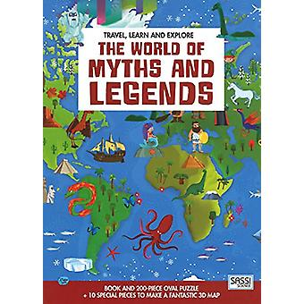 The World of Myths and Legends by Matteo Gaule - 9788868607029 Book