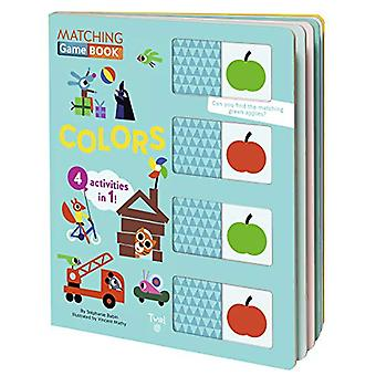 Matching Game Book - Colors by Stephanie Babin - 9782408016142 Book