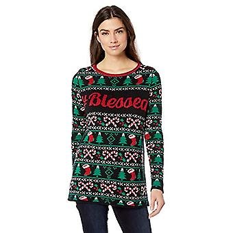 Ugly Christmas Sweater Company Women's Assorted Pullover Xmas Sweaters, Black...