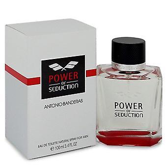 Power Of Seduction Eau De Toilette Spray By Antonio Banderas 3.4 oz Eau De Toilette Spray