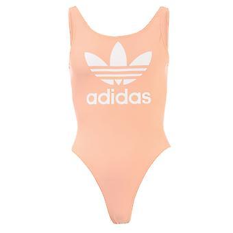 Women's adidas Originals Trefoil Traje de baño en rosa
